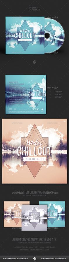 winter session cd cover artwork cd cover print templates and cd