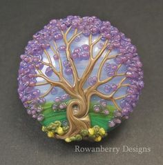 Art glass beads by Rowanberry Designs