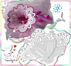 Christmas Crochet Patterns - Beautiful Crochet Patterns and Knitting Patterns Freeform Crochet, Crochet Art, Crochet Diagram, Thread Crochet, Crochet Gifts, Irish Crochet, Crochet Motif, Crochet Doilies, Crochet Home
