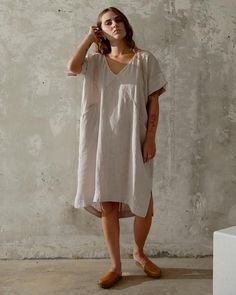 ALICE TUNIC - DUNE – esby apparel The White Album, Oversized Dress, French Seam, Diamond Pattern, Dune, Nice Dresses, Alice, White Dress, How To Wear