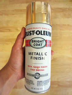 How to ideas for Glitter Metallic Wine Bottles - Rust-oleum Spray Paint in Gold
