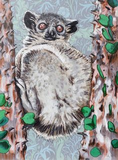 Adele van Heerden art online - Lemur In A Tree Tulip Drawing, Tiger Drawing, Fine Art Drawing, Art Drawings, Art Online, Online Art Gallery, Soldier Drawing, Lemur, Toy Soldiers