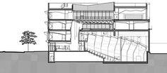 Imagen 28 de 29 de la galería de Conservatorio de Música en el Distrito 17 de Paris / Basalt Architects. Sección