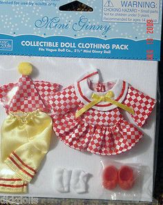 Offered for sale in a 10 day Ebay auction. Vogue-Mini-Ginny-Doll-Pierrot-Outfit-Only-2009