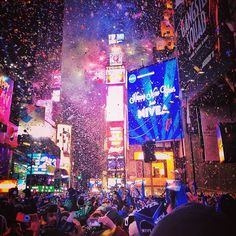 Ringing in the New Year Times Square style