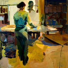 """Linda Christensen: """"Kitchen"""" at Gail Severn Gallery"""