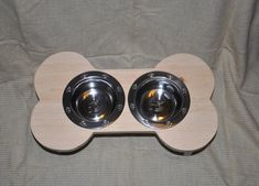 Elevated dog bowl  Dog bowl  Dog feeder  by moorefinewoodworking