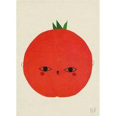 Tomato print - Elisabeth Dunker