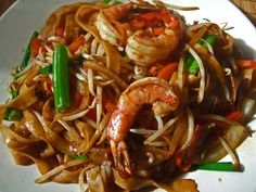 Shrimp Chow Fun: Try our delicious versions of these dishes at Sacramento, CA's Hing's Chinese Restaurant: http://hingsmadison.com/