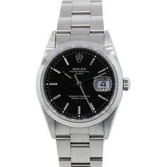 Rolex 15200 Date Stainless Steel Black Dial Gents Watch. Get the lowest price on Rolex 15200 Date Stainless Steel Black Dial Gents Watch and other fabulous designer clothing and accessories! Shop Tradesy now