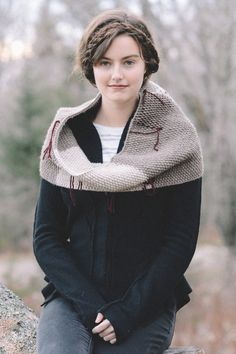 gabriela cowl by jennine birrell for scarves, etc. 5 / in quince & co. puffin and lark