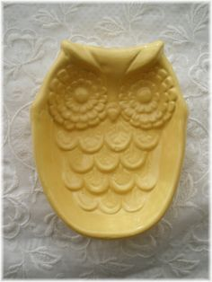 Hey, I found this really awesome Etsy listing at https://www.etsy.com/listing/129630452/owl-soap-dish-spoon-rest-home-decor