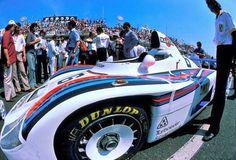 Martini Porsche 936/78 of Jacky Ickx, Bob Wollek & Jurgen Barth ~ 1978 24 Heures du Mans