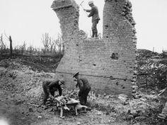 Housebreaking Gommecourt 1917