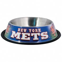 Hunter MFG New York Mets Dog Bowl * Special dog product just for you. See it now! : Dog bowls