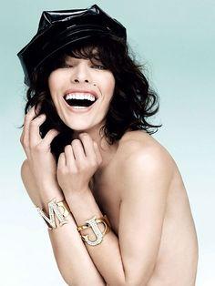 Milla Jovovich for Vogue Turkey May 2013