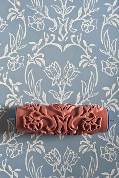 Tapet patterned paint roller from The Painted House, this may be just what I need for my entryway