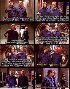 Jack & Daniel: Funny Stargate SG-1