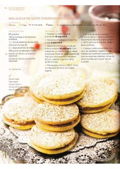 150 receitas Bimby (melhores de 2014) Sweet Desserts, Sweet Recipes, Healthy Recipes, Biscuits, Cake Bars, Happy Foods, Everyday Food, Afternoon Tea, I Foods