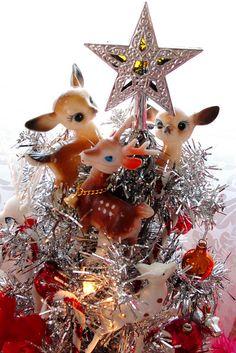 Cute vintage Reindeer