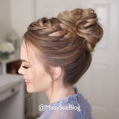 Today we are going to talk about those gorgeous braid styles. I will show you the best and trendy hair braid styles with some video tutorials. Bun Hairstyles For Long Hair, Braids For Long Hair, Elegant Hairstyles, Box Braids, Casual Updos For Long Hair, Crown Braids, Hairstyles Videos, Braided Hairstyles For Wedding, Updo Hairstyle