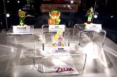 Fotos de los nuevos Amiibos de Zelda