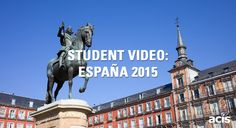 España 2015 - student video to music about Spain