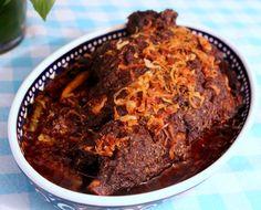 Shahi Raan Musallam/ Whole Mutton ( goat/lamb) Leg Roast Mutton Goat, Desi Food, Roast Recipes, Indian Food Recipes, Lamb, Goats, Chili, Soup, Beef