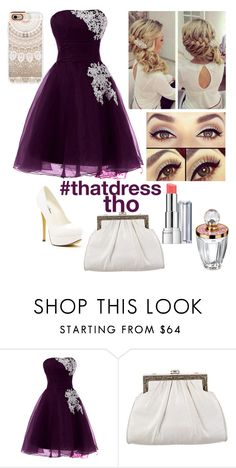 """""""prom"""" by grunge-girl-on-fleek ❤ liked on Polyvore featuring beauty, Michael Antonio, Judith Leiber, Revlon and Casetify"""