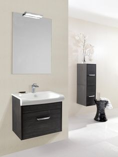 Essence Anthracite Bathroom Furniture Range from Crosswater http://www.bauhaus-bathrooms.co.uk/category/bauhaus-furniture-essence-anthracite/