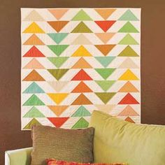 Flying in Formation | Jaybird Quilts by Julie Herman http://www.jaybirdquilts.com/