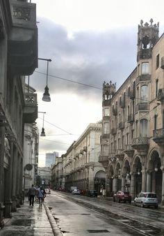 Torino questa sera dopo il temporale