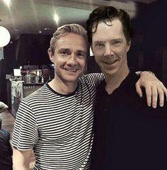 Benedict Cumberbatch & Martin Freeman