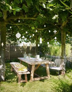 Outdoor Furniture Sets, Outdoor Decor, Happy Weekend, Pergola, Bbq, Exterior, Patio, Table Decorations, Green