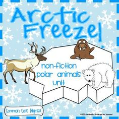 This fun and engaging Arctic Animal unit focuses on 6 arctic animals: polar bear, Arctic fox, walrus, Arctic hare, caribou, and seal! There are over 90 pages of games, emergent readers, printables, poems, graphic organizers, vocabulary cards, writing activities, project ideas... $