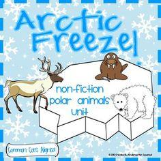 engaging Arctic Animal unit focuses on 6 arctic animals: polar bear ...