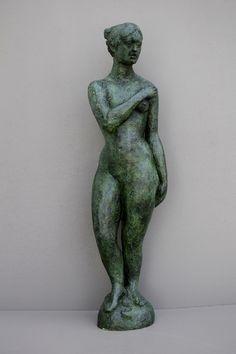 AUDFRAY Etienne, sculpture en bronze - Timide (La) - 2/8 - 1994