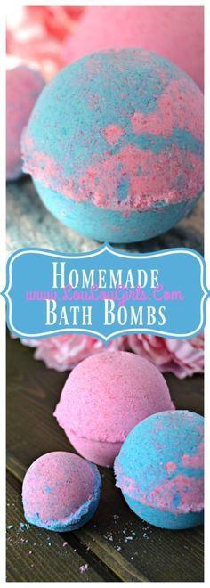 Homemade Bath Bombs, DIY to save money! - Lou Lou Girls