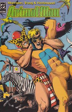 AnimalMan Issue #4 By Grant Morrison
