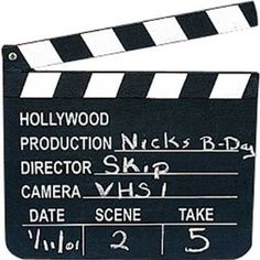 Directors Clapboard $4.25 with prime shipping