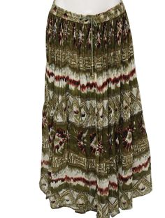 revue hippie skirt