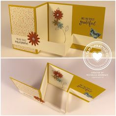 Stamp · Pray · Love: Z Fold Card with a Floating Strip