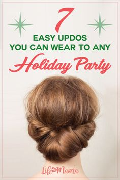 All of the updos on this list manage to be both gorgeous and simple, so whether you prefer something sleek and elegant or slightly more wild, these tutorials definitely won't disappoint.