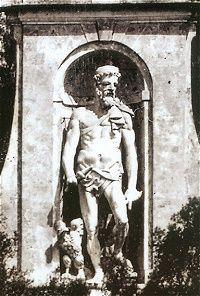 PALAZZO DEL PRINCIPE il Gigante, demolito nel 1939