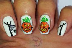 365 days of nail art : Day 276) Nail art Halloween