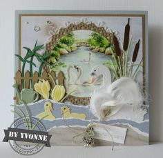 Paper Art, Paper Crafts, Marianne Design Cards, Bird Cards, Heartfelt Creations, Creative Cards, I Card, Cardmaking, Craft Projects