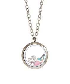 Loving this Pink & Stainless Steel Sister Locket With Crystals From SWAROVSKI on #zulily! #zulilyfinds