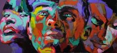 colorful faces