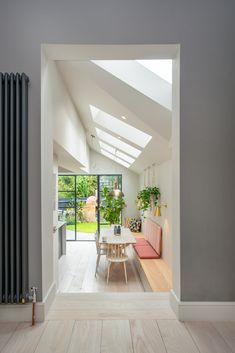N4 Side Return Extensions Project | BuildTeam Open Plan Kitchen Living Room, Open Plan Living, Victorian Terrace House, Victorian Homes, Modern House Design, Home Design, Design Ideas, Style At Home, Side Return Extension
