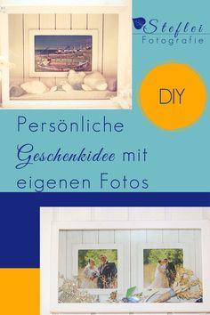 Du magst persönliche, individuelle Geschenke? Ich habe eine Idee für Dich! Erschaffe wertvolle Erinnerungen mit Deinen schönsten Fotos! Einfach selber nach zumachen! Shadow Box, Location, Blog, Simple, Perfect Photo, Photo Tips, Creative Photography, Blogging